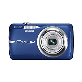 Casio EX-Z550 14.1MP Digital Camera with 4x Wide Angle Zoom with CCD Shift Image Stabilization and 2.7 inch LCD (Blue)