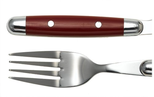 Cambridge Silversmiths 20-pc. Jubilee Jubilee Flatware Set, Red