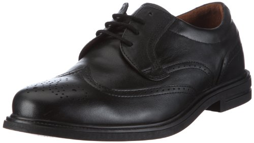 Manz Dublin Oxfords Men black Schwarz/schwarz Size: 46.5