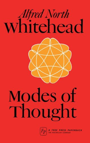 Modes of Thought, Alfred North Whitehead
