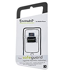 Envirochip - Radiation Protection Chip for Mobile Phone (Black Colour)