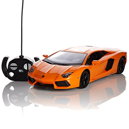 lamborghini-aventador-remote-radio-controlled-model-car-124-scale-in-matt-black-white-and-orange-ora
