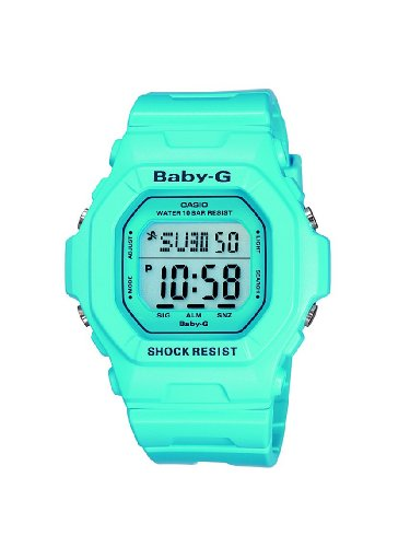 Baby-G Casio Ladies Digital Watch BG-5601-2ER with Resin Strap