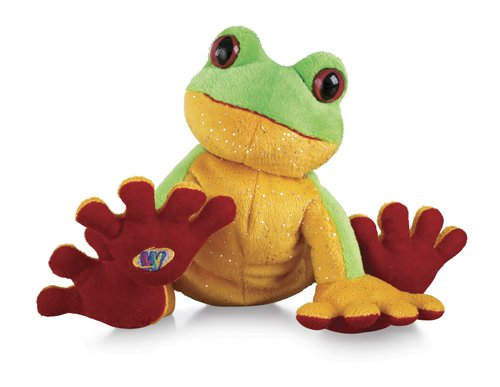 "Ganz Lil'Kinz Tree Frog 6.5"" Plush - 1"