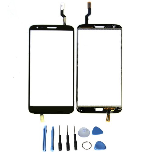 Touch Screen Glass Digitizer For Lg G2 D802 With Free Tools (Not Include Lcd) (Black)