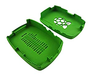 3D Printed Raspberry Pi information case, Green