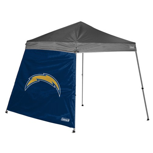 San Diego Chargers Canopy: Wall Tents For Sale: NFL San Diego Chargers 10 X 10 Slant