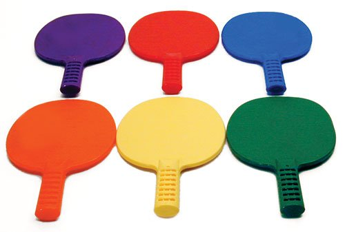 Set of Six Pick A Table Tennis Paddles Assorted ColorsB0000C1XT6