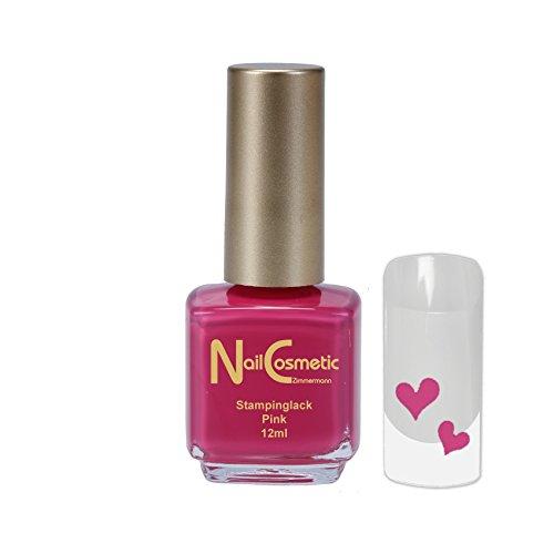Stamping Lack Pink / Stampinglack Pink / Nagellack Pink 12ml
