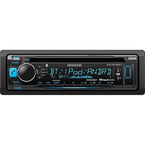 Kenwood KDC-BT365U CD Single Din In-Dash Bluetooth Car Stereo Receiver (Kenwood Car Stereos compare prices)