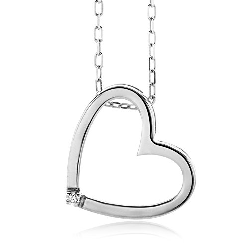 miore-925-sterling-silver-001-ct-diamond-heart-pendant-necklace-on-45-cm-chain