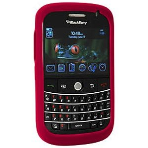 RIM (OEM) BlackBerry® Skin Case Cover forBlackBerry Bold 9000 - Red