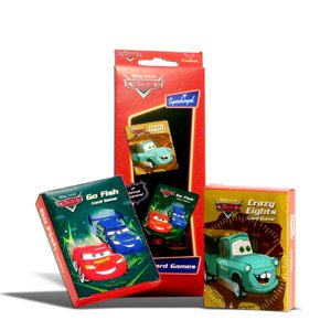 Party Favors Disney Pixar Cars Card Games