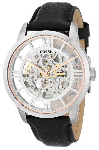 Fossil Men's ME3041 Townsman Analog Display Automatic Self Wind Black Watch