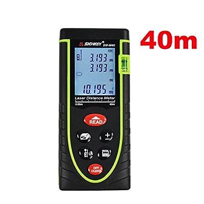 DEKO Digital Laser Lines Distance With Large Backlit LCD