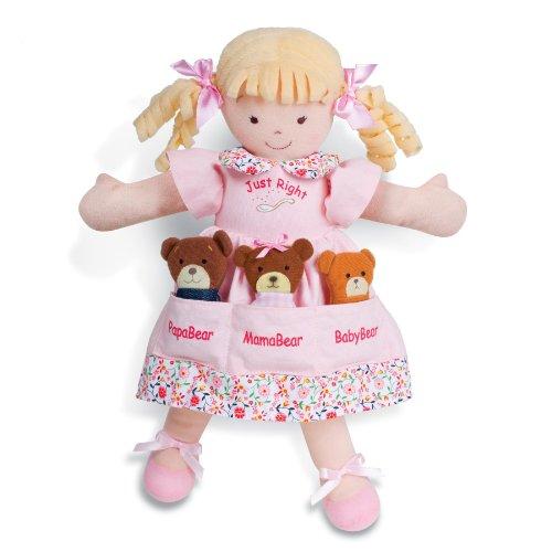 North American Bear Dolly Pockets Goldilocks and The 3 Bears Plush (North American Bears compare prices)