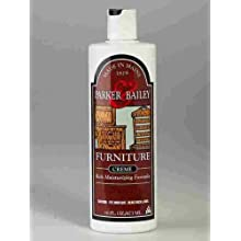 Parker & Bailey Furniture Cream with Lemon Oil, 16 oz.