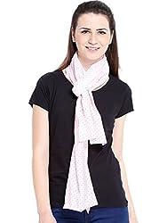 Ten on Ten Womens Printed scarf (Beige_Freesize)