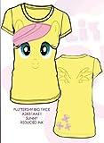 マイリトルポニー フラッターシャイ Tシャツ My Little Pony Fluttershy Big Face Junior T-shirt