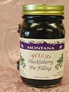 Wild Huckleberry Pie Filling, 16oz