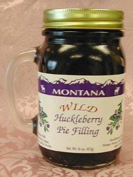 Wild Huckleberry Pie Filling, 16oz