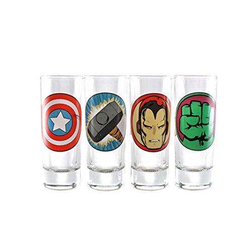 marvel-comics-avengers-assemble-iron-man-thor-hulk-captain-america-satz-von-4-schnapsglaser-lizenzie