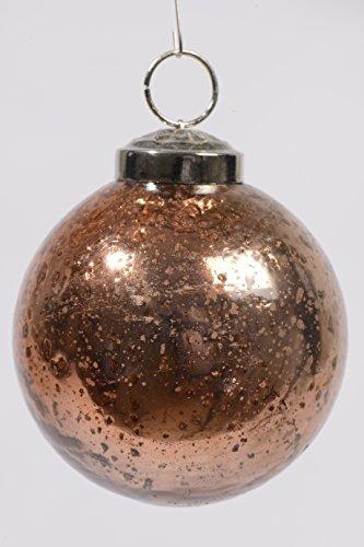 Weihnachtskugel Glaskugel Steinfinish