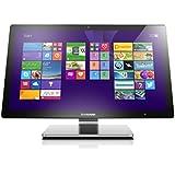 """Lenovo A540 Ordinateur Tout-en-Un Tactile 23"""" Argent (Intel Core i5, 8 Go de RAM, disque dur 1 To + 8 Go SSD, Nvidia GeForce GT 840A, Mise à jour Windows 10 gratuite)"""