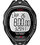 Timex Ironman Sleek 250 Lap Watch w/ Run Sensor- Full Size - Black