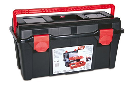 Point 36 Tayg Toolbox 285 x 580 x 290 MM, Black / Red, 136009 by TAYG (Tayg Toolbox compare prices)