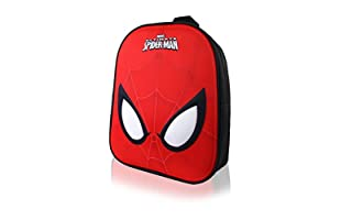 MARVEL Mochila Spiderman Eyes (Negro / Rojo)
