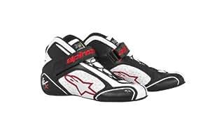 アルパインスターズ TECH 1-KX ブラック/ホワイト/レッド(123) 9.5サイズ レーシングシューズ レーシングカート・走行会用