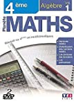Plan�te Maths 4e : Alg�bre - Coffret...