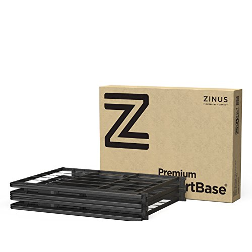 Zinus 18 inch premium smartbase mattress foundation 4 for High mattress box spring