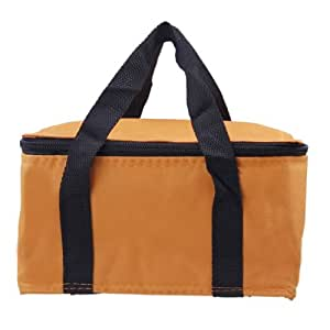 Y-BOA - Sac Isotherme Sport - Cooler Glacière - Aluminium Tissu 60D Oxford - Voyage/Camping/Repas/Déjeuner/Picnic - Boîte Lunchbox (Orange)