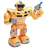 Super S Walking Warrior Robot With LED Lights, New Design And Music Robot Toy For Kids