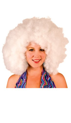 Imagen principal de Big Afro Wig White XXL (peluca)