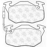 Brake Pad Set disc brake for RENAULT 19 I (B/C53_) 1988/1-1992/2 1.7 (B/C53B) Petrol Hatchback