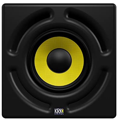 KRK 12sHO 400 Watts 12-Inch Powered Studio Subwoofer by KRK