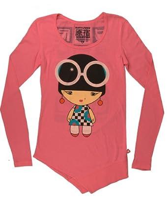 Harajuku Lovers Groovy Baby Long Sleeve Tee Shirt (X-SMALL)
