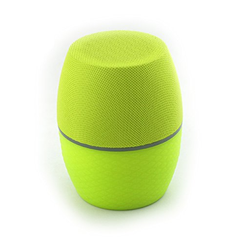 Cky Portable Wireless Mini Bluetooth Speaker Built-In Rechargeable Battery Hook Up Mp3 Player Or For An Instant Car Stereo (Green)