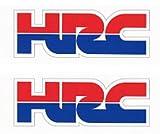 【ホンダステッカー】HI-925 HRC SSサイズ 35×13mm 2枚入り