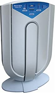 Surround Air XJ-3800 Intelli-Pro Air Purifier with Photocatalytic Filter HEPA/Carbon Filter and Germicidal UV Lamp