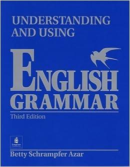 understanding and using english grammar blue pdf