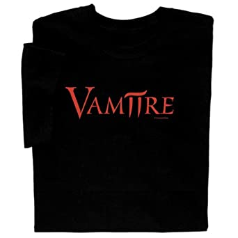 Vam-pi-re T-shirt Blk S