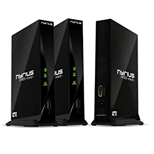 Nyrius ARIES Home+ HDMI Digital Wireless Transmitter System for HD 1080p 3D Video Streaming - Includes Bonus Additional Transmitter