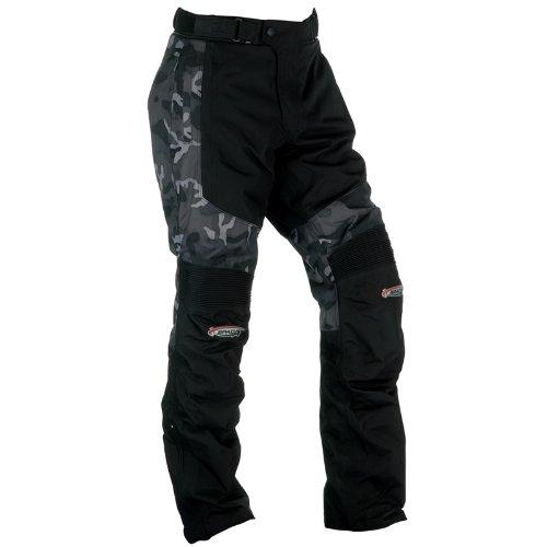 Spada Textile Trousers Milan-Tex Black/Camo