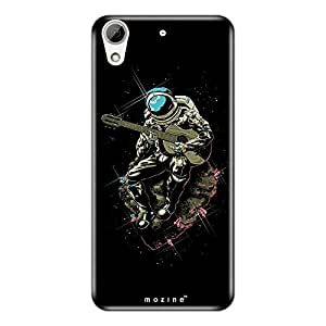 Mozine Strumming Astronaut printed mobile back cover for HTC desire 626