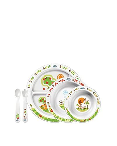 PHILIPS AVENT Set De Alimentación Infantil (+ 6 Meses) Sin Bpa SCF716/00