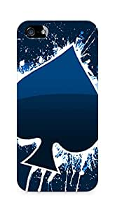 Amez designer printed 3d premium high quality back case cover for Apple iPhone 5 (Creative)